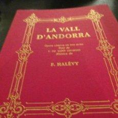 Libros de segunda mano: LA VALL DÀNDORRA. Lote 107893052