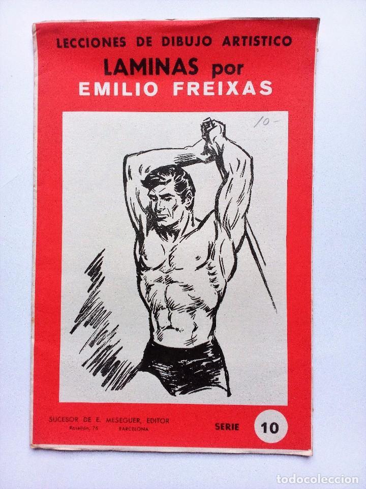 Lecciones de dibujo art stico serie roja 10 comprar en todocoleccion 91429280 - Laminas de dibujo artistico ...