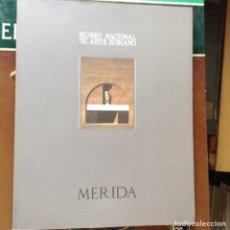 Libros de segunda mano: MUSEO NACIONAL DE ARTE ROMANO. MÉRIDA 1.838-1.988. Lote 91525433