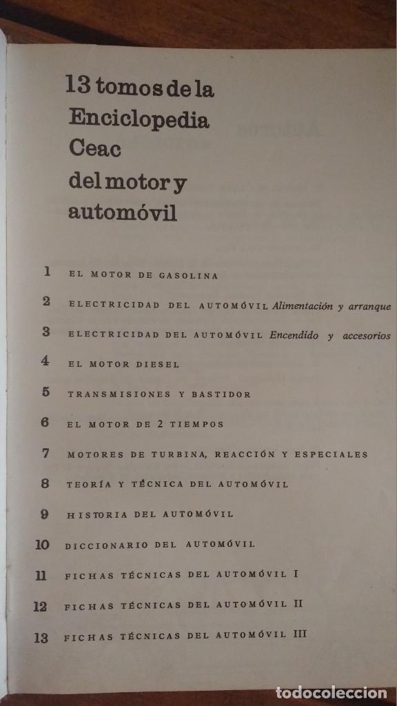 Libros de segunda mano: el motor diesel 1974 CEAC vol. 4 - Foto 2 - 91539375
