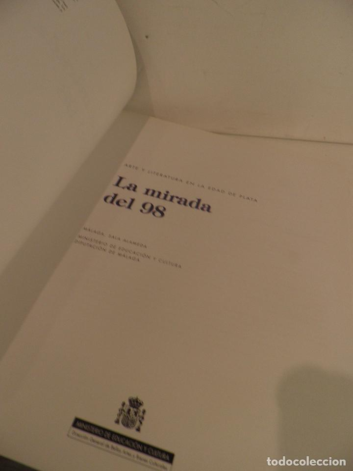 Libros de segunda mano: Arte y literatura en la edad de plata. La mirada del 98, MALAGA , SALA ALAMEDA ,1998 - Foto 5 - 91673070