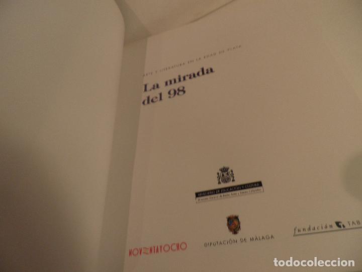 Libros de segunda mano: Arte y literatura en la edad de plata. La mirada del 98, MALAGA , SALA ALAMEDA ,1998 - Foto 12 - 91673070