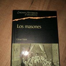Libros de segunda mano: LOS MASONES. DE CÉSAR VIDAL. Lote 91682149