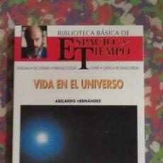 Libros de segunda mano: VIDA EN EL UNIVERSO - ABELARDO HERNANDEZ. Lote 91746120