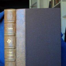 Libros de segunda mano: EL TAO DE LA FÍSICA. FRITJOF CAPRA.. Lote 91765775