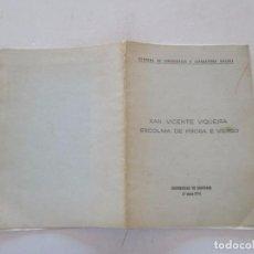 Libri di seconda mano: XAN VICENTE VIQUEIRA. ESCOLMA DE PROSA E VERSO. RMT81956. . Lote 91815265