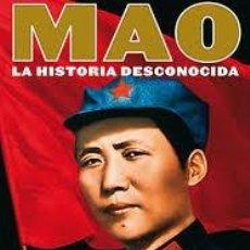 Libros de segunda mano: MAO: LA HISTORIA DESCONOCIDA JON HALLIDAY; JUNG CHANG,TAURUS 2006. Lote 91940755