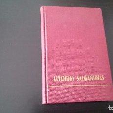 Libros de segunda mano: LEYENDAS SALMANTINAS - GARCÍA MACEIRA - EDICIONES SALAMANCA 1961. Lote 91947820