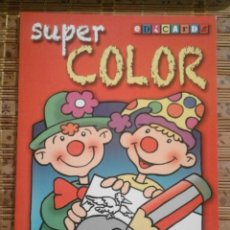 Libros de segunda mano: SUPER COLOR - LIBRO DE COLOREAR EDICARDS. Lote 92019490