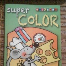 Libros de segunda mano: SUPER COLOR - LIBRO DE COLOREAR EDICARDS. Lote 92019545