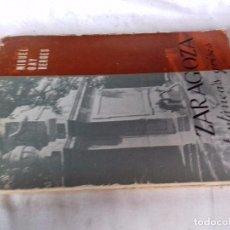 Gebrauchte Bücher - ZARAGOZA-INSTANTÁNEAS GRISES-GAY BERGES, Miguel-CAZAR 1972-FOTOS INDICE Y CONT-ARAGON - 92036965