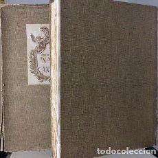Libros de segunda mano: AMICH : NAVES DE ANTAÑO (TIRADA NUMERADA. PAPEL HILO. ILUSTRACIONES DE JUAN PASSARELL Y E BONET) . Lote 92078410