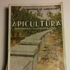 Libros de segunda mano: APICULTURA (NOCIONES ELEMENTALES) /// LIÑÁN Y HEREDIA, NARCISO JOSÉ. Lote 92221395