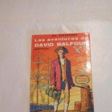 Libros de segunda mano: LIBRO ILUSTRADO LAS AVENTURAS DE DAVID BALFOUR WALT DISNEY ED. GAISA 1968. Lote 92260955