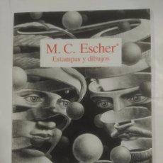 Libros de segunda mano: ESTAMPAS Y DIBUJOS. M.C. ESCHER. TDK304. Lote 165537485