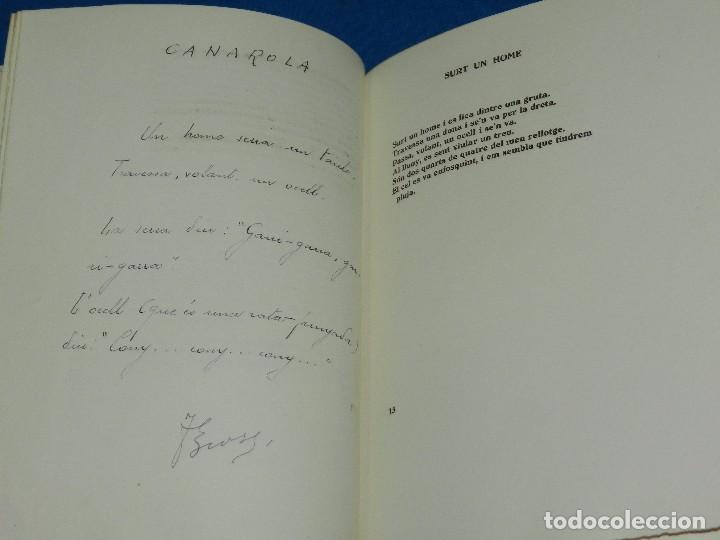 Libros de segunda mano: (M) EM VA FER JOAN BROSSA PROLEG JOAO CABRAL DE MELO , EDC 20 EJEMPLARES, POEMA INEDITO A LAPIZ - Foto 5 - 92403130