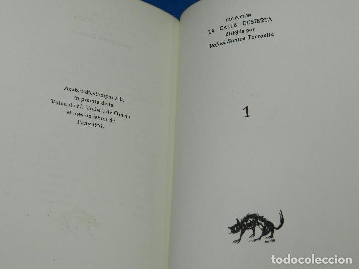 Libros de segunda mano: (M) EM VA FER JOAN BROSSA PROLEG JOAO CABRAL DE MELO , EDC 20 EJEMPLARES, POEMA INEDITO A LAPIZ - Foto 6 - 92403130