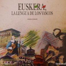 Libros de segunda mano: EUSKERA, LA LENGUA DE LOS VASCOS - JOSEBA INTXAUSTI. Lote 179039145