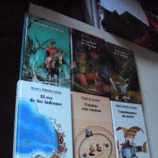 Libros de segunda mano: LOTE DE 6 LIBROS BIBLIOTECA JUVENIL LABOR AÑOS 80. Lote 92742735