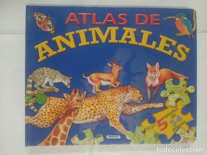 ATLAS DE ANIMALES SUSAETA. LIBRO PUZZLE. SUSAETA EDICIONES. ARM21 (Libros de Segunda Mano - Literatura Infantil y Juvenil - Otros)