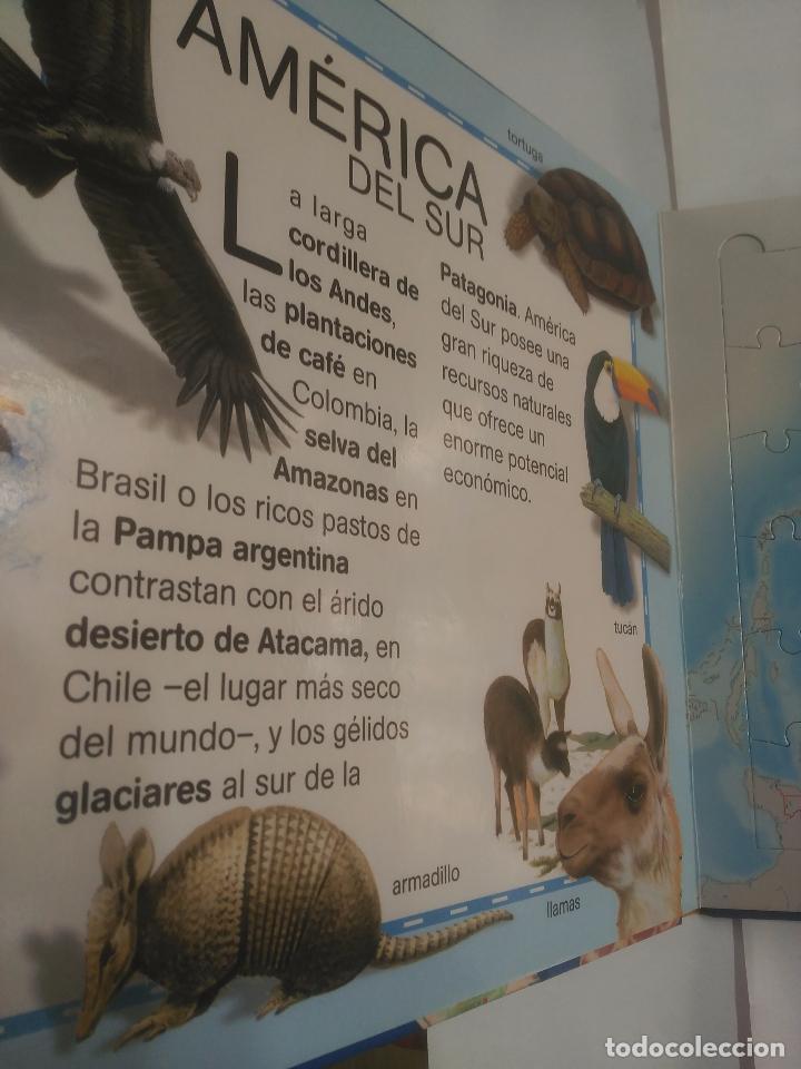 Libros de segunda mano: ATLAS DE ANIMALES SUSAETA. LIBRO PUZZLE. SUSAETA EDICIONES. Arm21 - Foto 2 - 92742830
