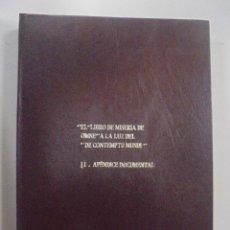 Libros de segunda mano: EL LIBRO DE MISERIA DE OMNE, A LA LUZ DEL DE CONTEMPTU MUNDI. G.RODRIGUEZ R. APENDICE DOCUMENTAL Nº2. Lote 92879825