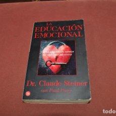 Livros em segunda mão: LA EDUCACIÓN EMOCIONAL - DR. CLAUDE STEINER - AJB. Lote 187571620