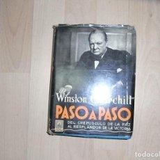 Libros de segunda mano: WINSTON CHURCHILL, PASO A PASO. Lote 92954135