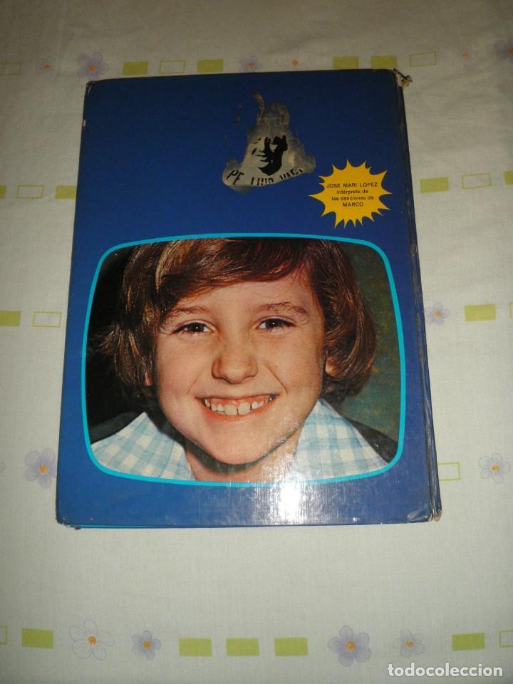 Libros de segunda mano: DE LOS APENINOS A LOS ANDES EDICIONES VULCANO SERIE DE TV MARCO 1977 - Foto 2 - 93235120