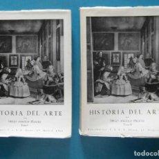 Libros de segunda mano: HISTORIA DEL ARTE. DIEGO ANGULO IÑIGUEZ. TOMOS I Y II AÑOS 1966 Y 1967. Lote 93355835