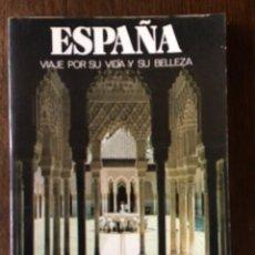 Libros de segunda mano: LIBRO ESPAÑA VIAJE POR SU VIDA Y SU BELLEZA DE 1980 DE LA EDITORIAL CASTELL. Lote 93644110