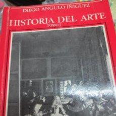 Libros de segunda mano: HISTORIA DEL ARTE TOMO 1 DIEGO ANGULO IÑIGUEZ AÑO 1982. Lote 93670120