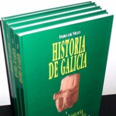Libros de segunda mano: HISTORIA DE GALICIA. COMPLETA 4 TOMOS. FRANCISCO PABLOS. VIGO 1991.. Lote 194598486