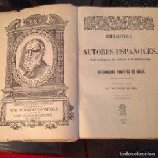 Libros de segunda mano: BIBLIOTECA AUTORES ESPAÑOLES, HISTORIADORES PRIMITIVOS DE INDIAS, TOMO I, EDIT. ATLAS, MADRID 1946. Lote 93866155
