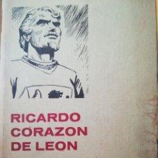 Libros de segunda mano: RICARDO CORAZÓN DE LEÓN JOSEPH LACIER N°29. Lote 94024759