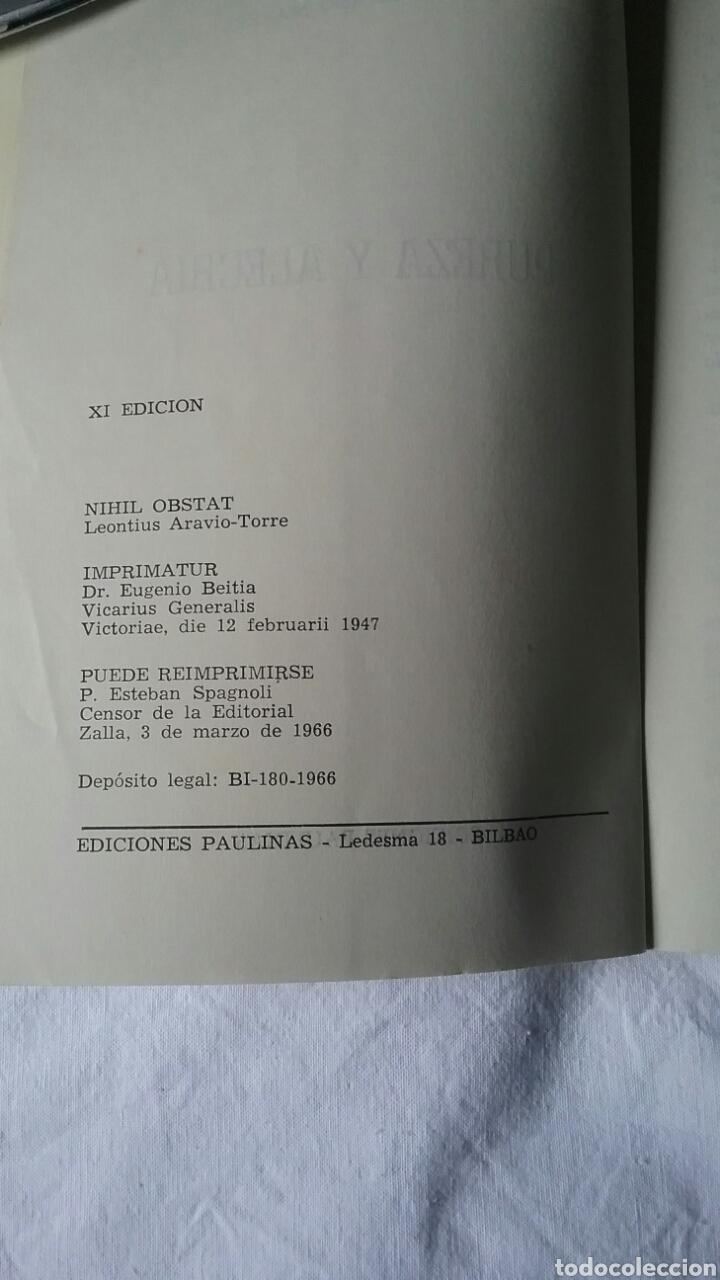 Libros de segunda mano: PUREZA Y ALEGRIA. MAXIMILIANO MAZZEL.COLECCIÓN PRIMAVERA.XI EDICIÓN. AÑO 1966 - Foto 3 - 94037683