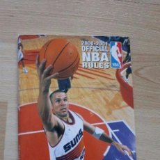 Libros de segunda mano: GUIA OFICIAL NBA RULES 2000-2001. Lote 94115715