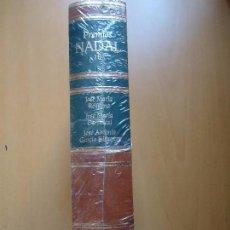 Libros de segunda mano: LIBRO. PREMIOS NADAL, 1971, 1972, 1973. TOMO 10, CON TRES OBRAS.EN PIEL Y FILOS DORADOS. REBAJADO D.. Lote 94160130