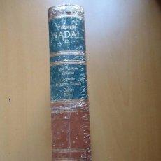 Libros de segunda mano: LIBRO. PREMIOS NADAL, 1977, 1978, 1979. TOMO 12, CON TRES OBRAS. TAPAS DURAS, FILOS EN ORO, REBAJADO. Lote 94160810