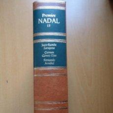 Libros de segunda mano: LIBRO. PREMIOS NADAL, 1980, 1981, 1982. TOMO, 13 CON TRES TÍTULOS.EN PIEL Y FILOS DORADOS.REBAJADO D. Lote 94161495