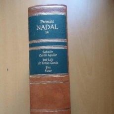 Libros de segunda mano: LIBRO. PREMIOS NADAL. 1983, 1984, 1985. TOMO 14, CON TRES OBRAS. TAPAS DURAS EN PIEL FILOS DORADOS.. Lote 94162425