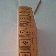 Libros de segunda mano: LIBRO. COSSIO, LOS TOROS EL TOREO. VOLUMEN 4. Lote 94181070