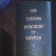 Libros de segunda mano: LOS PREMIOS GONCOURT DE NOVELA. TOMO I. Lote 94205380