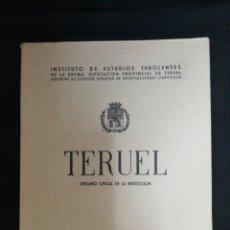 Libros de segunda mano: LIBRO. TERUEL .... 1966. Lote 94217488