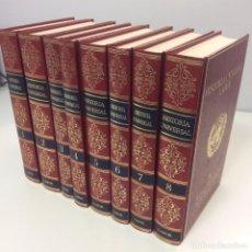 Libros de segunda mano: HISTORIA UNIVERSAL LABOR (8 VOLS). Lote 94278035