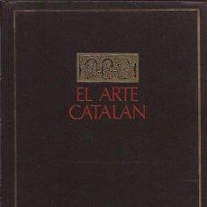 Libros de segunda mano: LIBRO- ARTE CATALAN MARCEL DURLIAT EDIT. JUVENTUD 1967. Lote 94329758