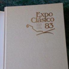 Libros de segunda mano: LIBRO TOMO EXPO CLÁSICO DISEÑO MUEBLES 1983. Lote 94382450