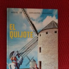 Libros de segunda mano: EL QUIJOTE MIGUEL DE CERVANTES EDITORIAL LUIS VIVES. Lote 94389544
