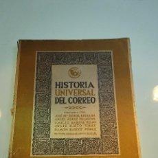 Libros de segunda mano: HISTORIA UNIVERSAL DEL CORREO - VARIOS AUTORES - TOMO I - MADRID - 1950 - 157 PP. - . Lote 94437450