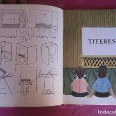 Libros de segunda mano: TÍTERES CON CACHIPORRA GASSET, ÁNGELES AGUILAR COLECCION EL GLOBO DE COLORES 1977 PRIMERA EDICION . Lote 94444162